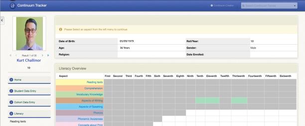 Continuum Tracker